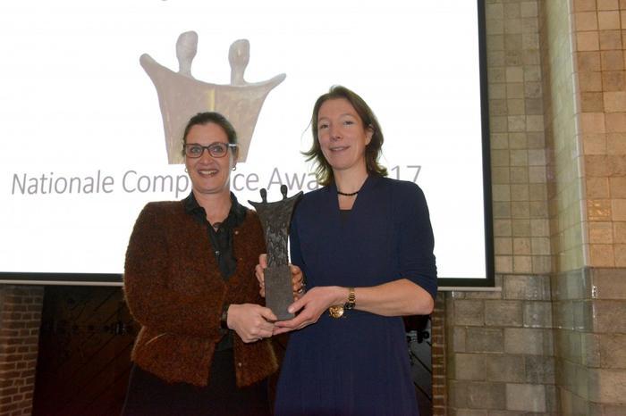 Compliance Award voor Kennistafel Gedrag & Cultuur